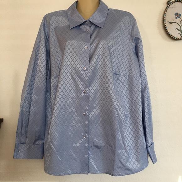 b1e2fd6ff Foxcroft Tops | Wrinkle Free Shirt | Poshmark